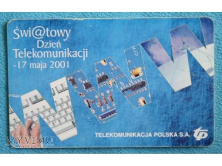 Światowy Dzień Telekomunikacji 2001