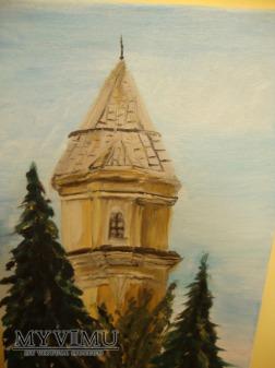 Kolejowa wieża ciśnień w Otwocku