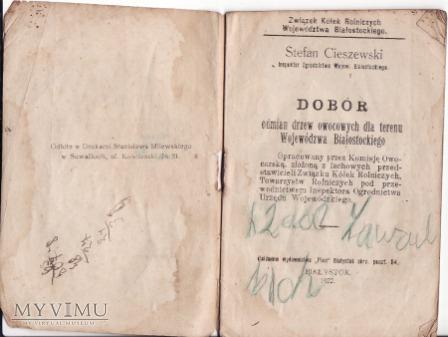 Broszura -Białystok 1922.