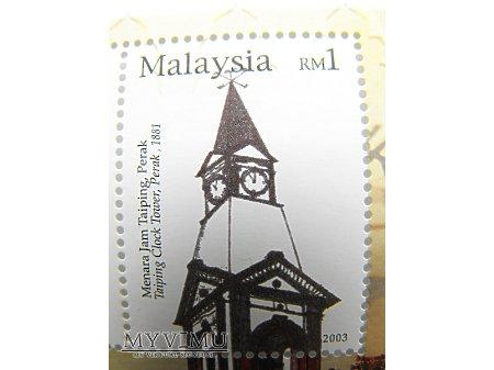 Malezja - wieże zagarowe