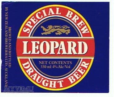 lion breweries - leopard
