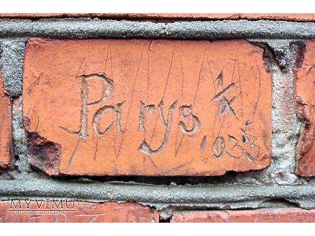 """Duże zdjęcie """"Stara Prochownia"""" - budynek A - inskrypcja #053"""