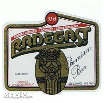 radegast premium beer