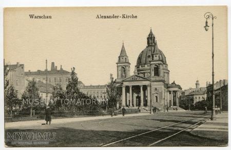 W-wa - Kościół św. Aleksandra - 1914/18