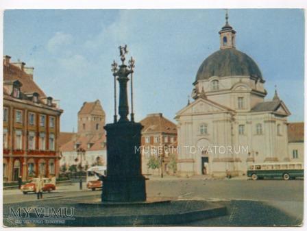 W-wa - Nowe Miasto - Rynek - 1962a