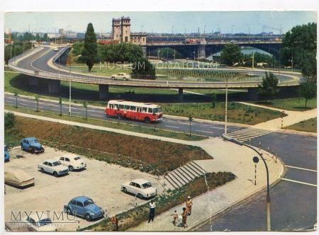 W-wa - III Most - Poniatowskiego - 1960/70-te