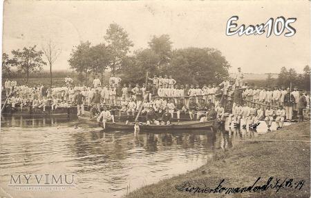 14 Pułk Piechoty Kompania Saperów Bydgoszcz 1908
