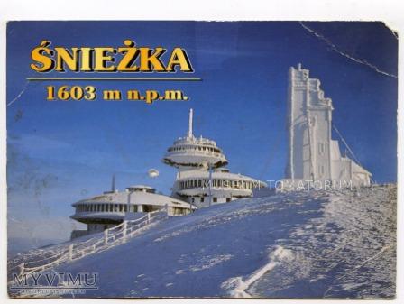 Karkonosze Śnieżka Schneekoppe Obserwatorium 1997