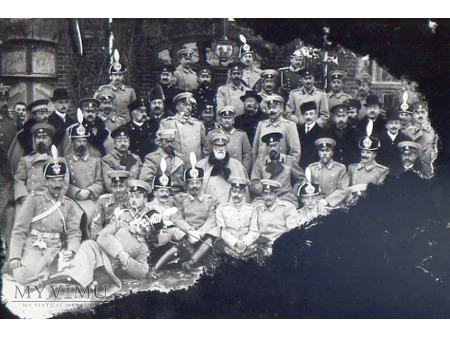 Pamiątkowa fotografia przy kolei I