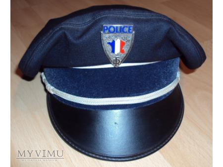 Czapka francuskiego policjanta