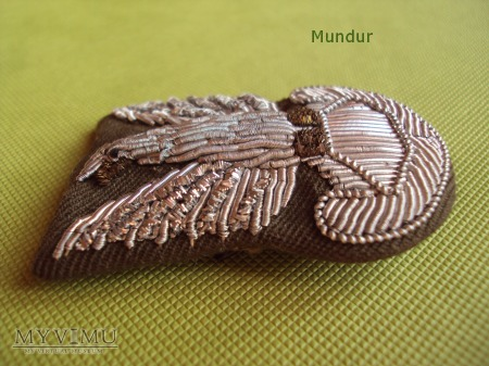 Orzełek wz.61 haftowany bajorkiem