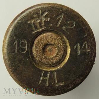 Łuska 8x58 R Krag III.12 14 HL 19