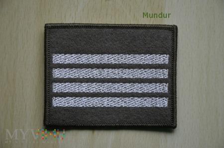 Oznaka stopnia - plutonowy SG