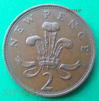 2 New Pence Wielka Brytania