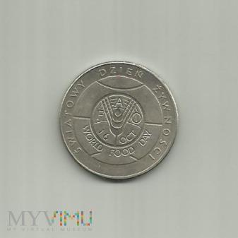 50 złotych, 1981 Miendzynarodowy Dzień Żywności