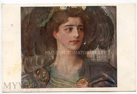 Axentowicz - Kobieta - 1911