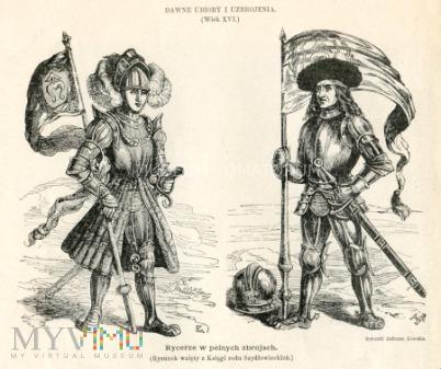 Kossak - Rycerze w pełnych zbrojach