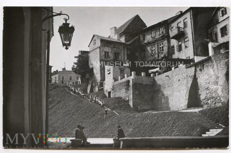 Lublin - domy przy ul. Podwale - lata50/60