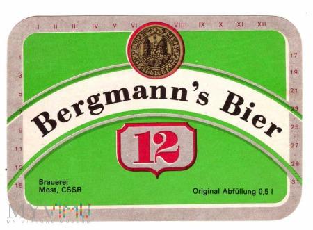 Louny, Bergmann's Bier