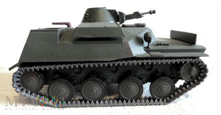 Duże zdjęcie Lekki czołg pływający T-40