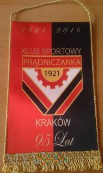 proporczyk Prądniczanka Kraków 95-lat