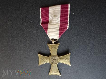 Duże zdjęcie Krzyż Walecznych - z lat 1944 - 1945 : 22a.