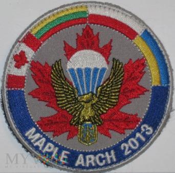 Ćwiczenia MAPLE ARCH 2013