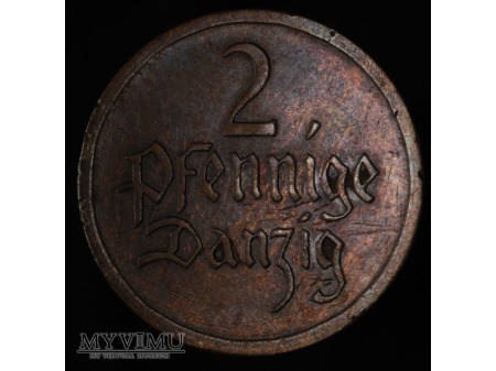 2 fenigi 1926