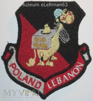 Zespół EOD. Liban. UNIFIL