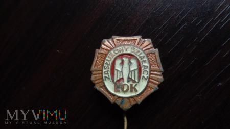 odznaka załużony działacz LOK