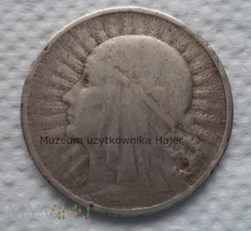 1933 rok - 2 złote - głowa kobiety - II RP