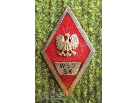 Odznaka WSO Służb Kwatermistrzowskich