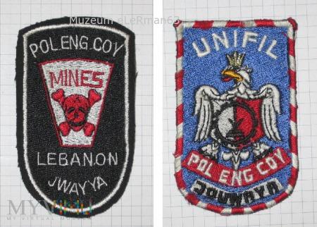 Zgrupowanie Pododdziałów Inżynieryj, Liban. UNIFIL