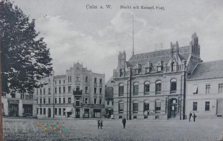 Kartka pocztowa Culm am W. Chełmno nad Wisłą