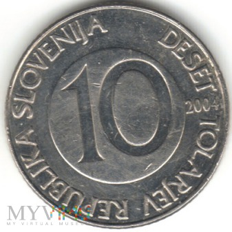 10 TOLARJEV 2004