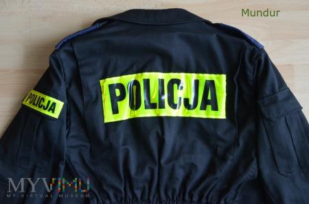 Mundur ćwiczebny policji