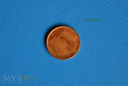 Moneta: 1 euro cent - Estonia