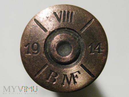 Łuska 8x50R Mannlicher M.95 [VIII/19/14/BMF]