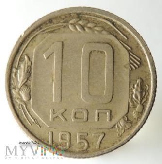 ZSRR 10 kopiejek 1957