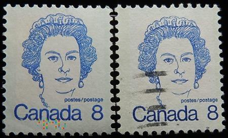 Kanada 8c Elżbieta II