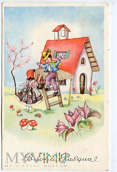 Duże zdjęcie Pozdrowienia Wielkanocne - 1972