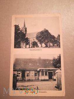 Hotel Bałtyk i kościół