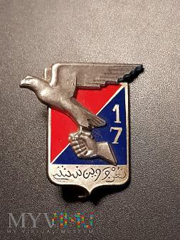 Pamiątkowa odznaka 17 Pułku Artylerii - Francja