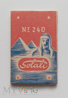 Bibułki do papierosów Solali