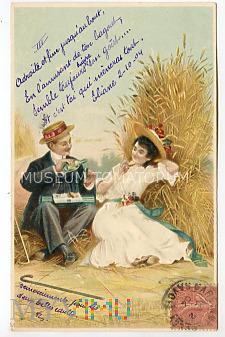 Buszujący w zbożu - On i Ona - 1904