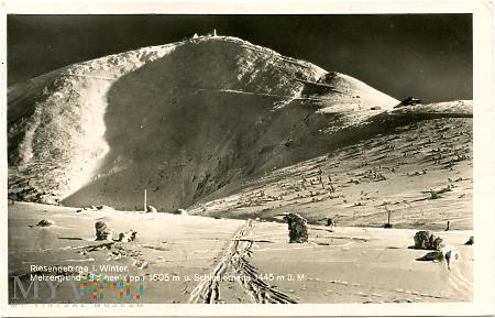 Karkonosze - Śnieżka zimą