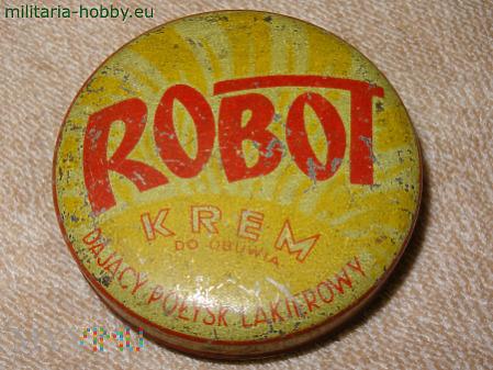 Krem do obuwia Robot