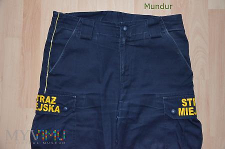 Spodnie bojówki Straży Miejskiej