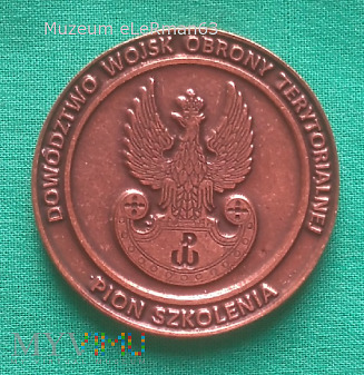 Duże zdjęcie Coin. Dowództwo Wojsk Obrony Terytorialnej