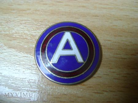 odznaka amerykańska